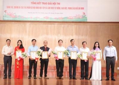Chi bộ Giảng viên 4 tích cực tham gia Hội thi sáng tác, quảng bá các tác phẩm có nội dung học tập và làm theo tư tưởng, đạo đức, phong cách Hồ Chí Minh