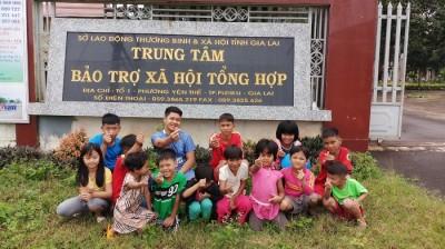 Trao lời yêu thương – Sự kiện ý nghĩa cho trẻ em có hoàn cảnh đặc biệt tại Phố Núi