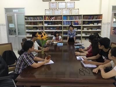 Tổng kết đợt thực tập tại Trung tâm văn hóa Quận 2 của sinh viên Khoa Quản lý Văn hóa, Nghệ thuật trường Đại học văn hóa TP.HCM