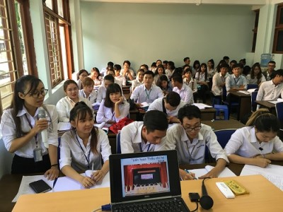 Thực tập cuối khóa: Bài học thực tiễn đầy ý nghĩa của sinh viên khoa Quản lý Văn hóa, Nghệ thuật trường Đại học Văn hóa TP.HCM